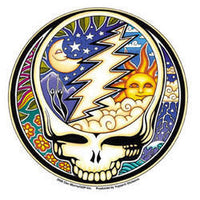 Grateful Dead - Night/day Steal Your Face Sticker - Sticker