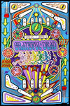 Grateful Dead - Pinball Machine Tapestry Wall Hanging - Tapestries