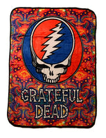 Grateful Dead - Psychedelic SYF Fleece Throw Blanket