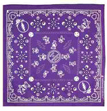 Grateful Dead - Dancing Bears Bandana - Purple - Misc.