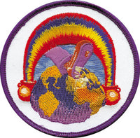 Grateful Dead - Europe '72 Rainbow Foot Patch