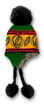 Grateful Dead - Rasta Steal Your Face Knit Flap Hat - Hats