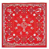 Grateful Dead - Dancing Bears Bandana - Red - Misc.