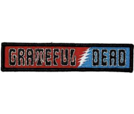 Grateful Dead - 60's Logo Embroidered Patch