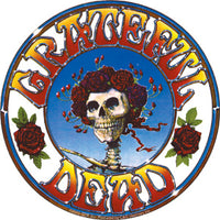 Grateful Dead - Skull & Roses Bertha Decal Slap Sticker