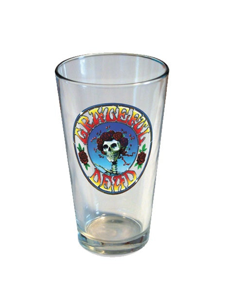Grateful Dead - Skeleton & Roses Pint Glass