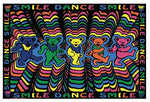 Grateful Dead Dancing Bears Tapestry Wall Hanging
