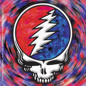 Grateful Dead - Spinning SYF Square Sticker