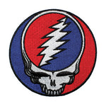 "Grateful Dead - Steal Your Face 3 1/2"" Iron On Patch"