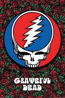 Grateful Dead - Steal Your Face Roses Poster