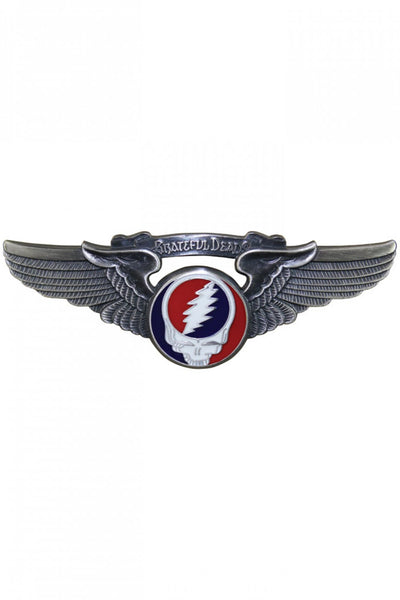 Grateful Dead - Syf Steal Your Face Rockwings Pin - Housewares