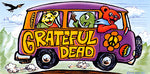 Grateful Dead - Summer Tour Bus Sticker