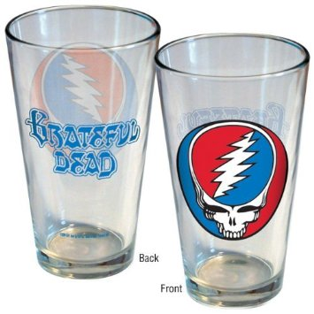Grateful Dead - Steal Your Face Pint Glass - Housewares