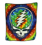 Grateful Dead - Syf Tie Dye Fleece Throw Blanket - Housewares