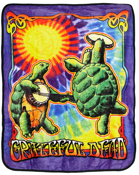 Grateful Dead - Terrapin Sunshine Fleece Throw Blanket - Housewares