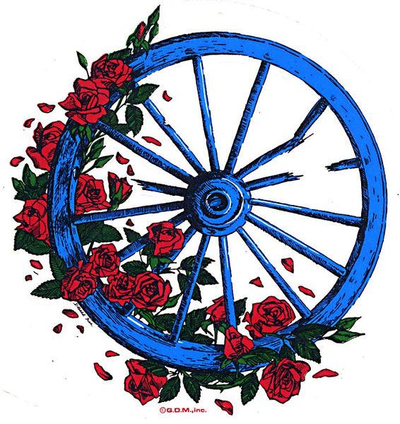 Grateful Dead - The Broken Wheel Sticker - Stickers