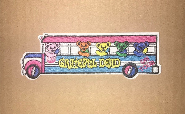 Grateful Dead - Tour Bus Iron On Patch