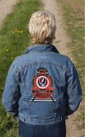 Grateful Dead - 1965 SYF Train Embroidered Oversized Back Patch
