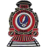 Grateful Dead 1965 SYF Train Embroidered Patch