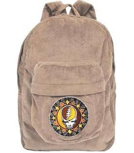 Grateful Dead - Tribal Steal Your Face Corduroy Backpack