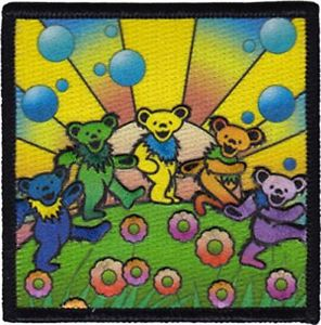 Grateful Dead - Bear Utopia Patch - Patches