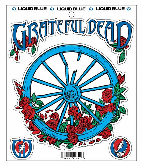 Grateful Dead - The Wheel Multi Sticker Sheet