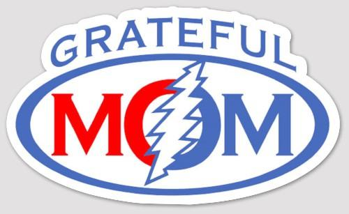 Grateful Mom Bumper Sticker - Stickers