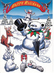 Grateful Dead - Snow Bear Christmas Holiday Card