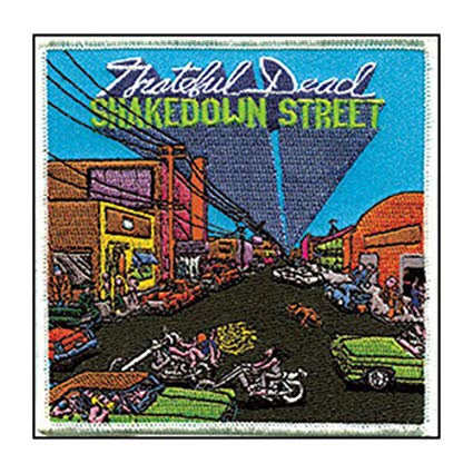 Grateful Dead - Shakedown Street Album Cover Patch