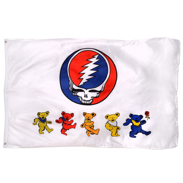 Grateful Dead - Dancing Bears Syf Flag - Tapestries
