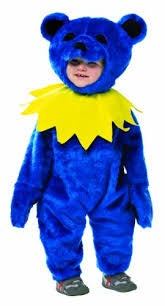 Blue Baby Dancing Bear Costume