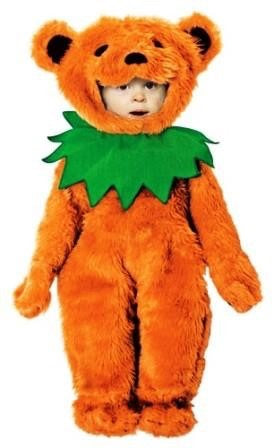 Orange Grateful Dead Costume