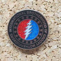 International Brotherhood of Groovy Motherfuckers Hat Pin