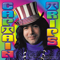 Jerry Garcia - Captain Trips Sticker Slap