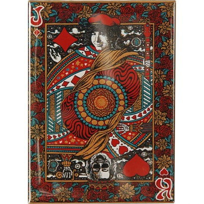 Jerry Garcia - Playing Card Magnet
