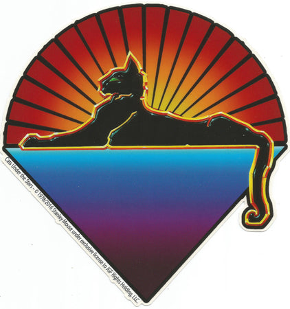 Jerry Garcia - Cats Under the Stars Sticker