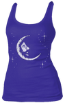 Jerry Garcia - Jerry Moon Ladies Tank Top