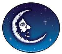 Jerry Garcia - Jerry Moon Sticker - Sticker