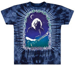 Jerry Garcia - Jerry Under The Moon Tie Dye T-Shirt