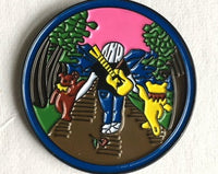 Jerry Garcia - Walking with Bears Pin