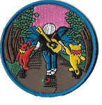 Grateful Dead - Jerry Walking With Bears Patch - Patches