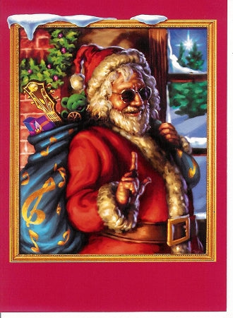 Grateful Dead - Jerry Garcia Christmas Card - Housewares