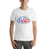 Grateful Dead - Grateful Dad Short-Sleeve T-Shirt - White / S - T-Shirts