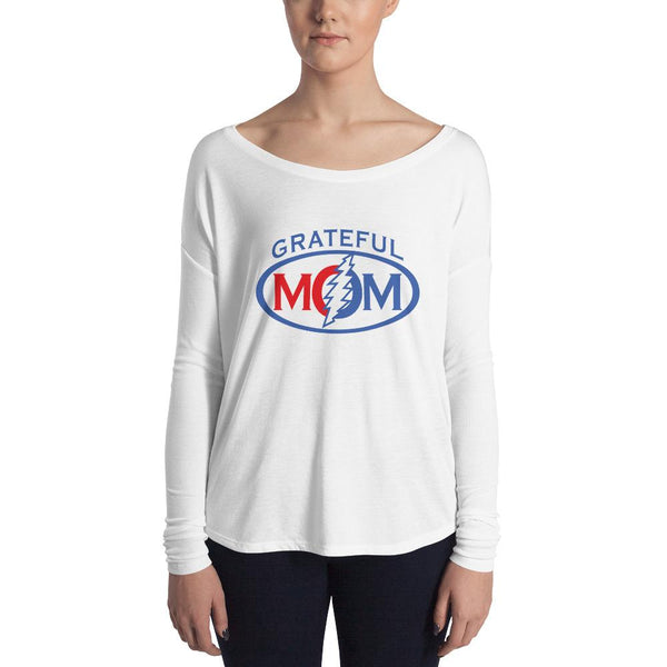 Grateful Mom Ladies' Long Sleeve Tee