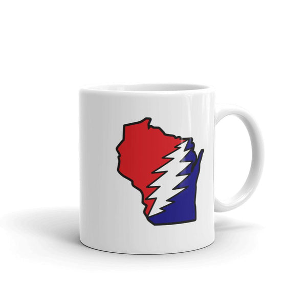 Grateful Dead Wisconsin Deadhead Coffee Mug - Housewares