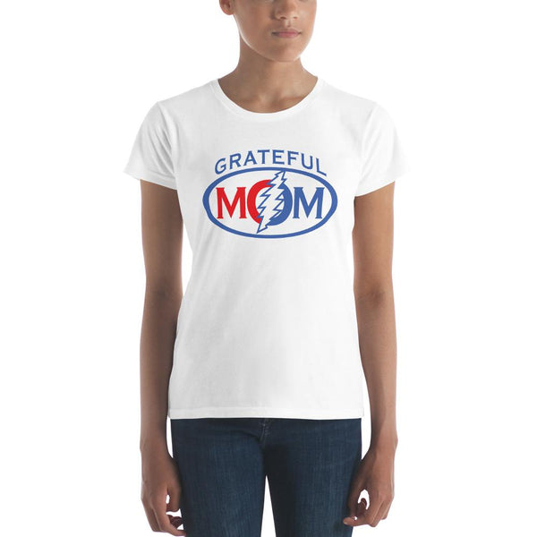 Grateful Mom Women's Short Sleeve T-Shirt