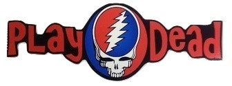 Grateful Dead - Play Dead Sticker - Sticker