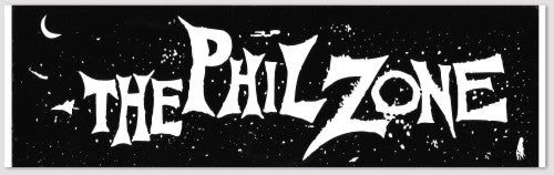 The Phil Zone Bumper Sticker