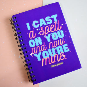 "Hocus Pocus ""I Cast a Spell on You"" Book Review Journal"