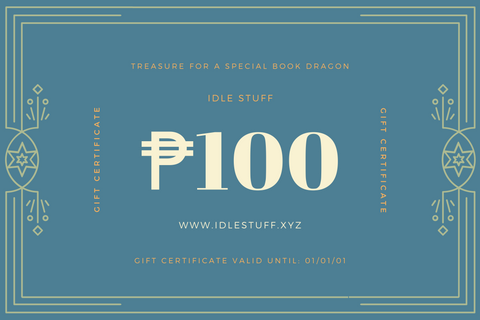 Book Dragon Gift Voucher